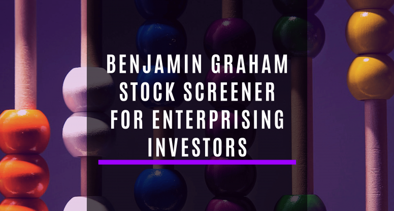 Benjamin Graham stock screener