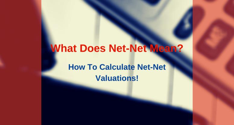 what does net net mean